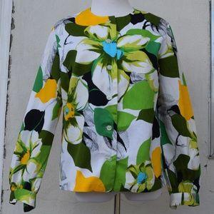 Jackets & Blazers - Vintage Handmade Floral Jacket